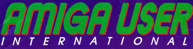 Amiga User International Masthead