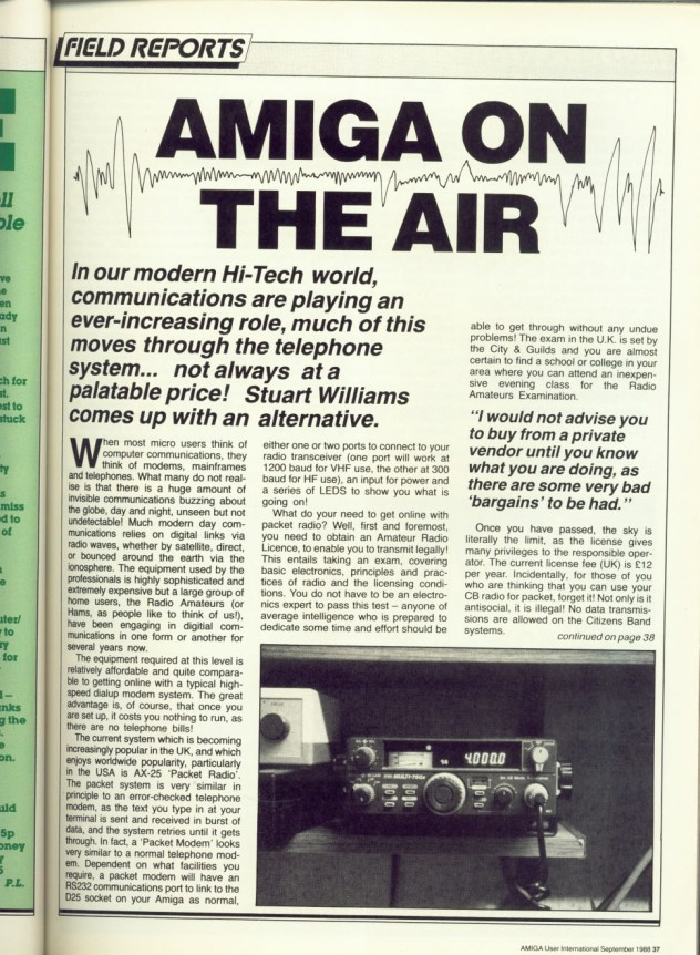 Amiga User International Volume 2, Number 9, September 1988 p37