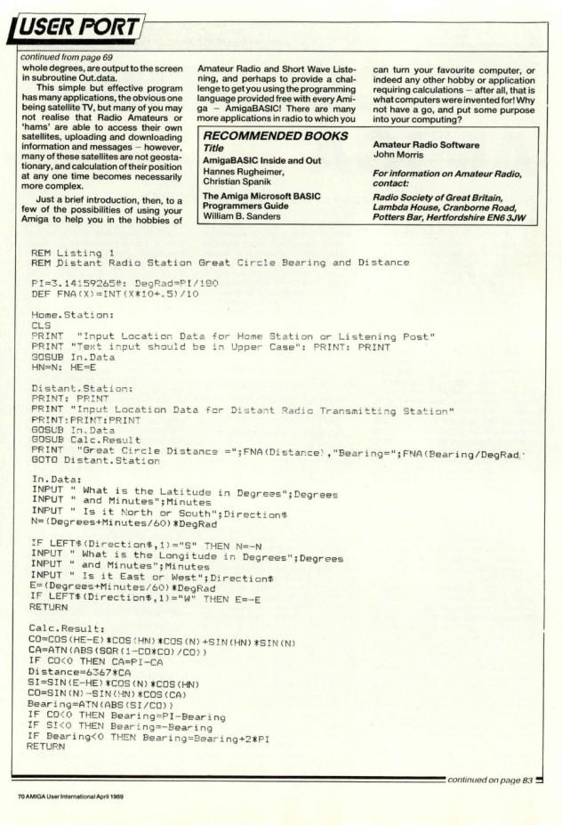 Amiga User International Volume 3, November 4, April 1989 p70