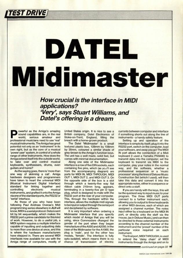 Amiga User International Volume 3, Number 6, June 1989 p29