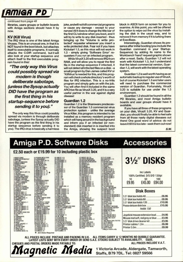 Amiga User International Volume 3, Number 7, 1989 p55