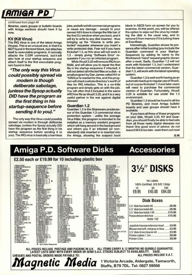 Amiga User International Volume 3, Number 7, 1989 p55