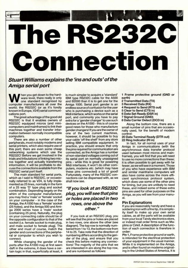 Amiga User International Volume 3, Number 9, September 1989 p37