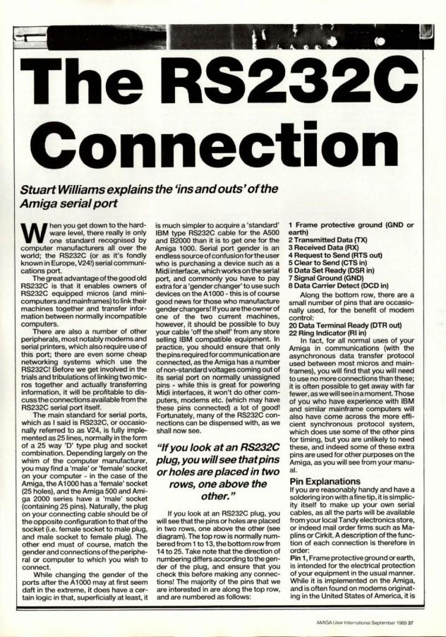 Amiga User International Volume 3, Number 9, September 1989 p37