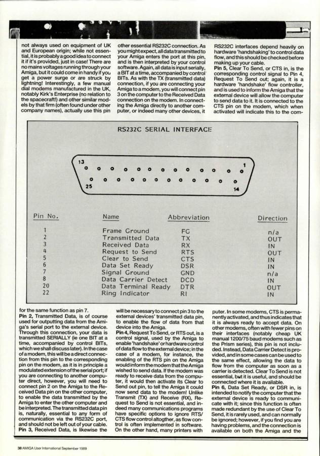 Amiga User International Volume 3, Number 9, September 1989 p38