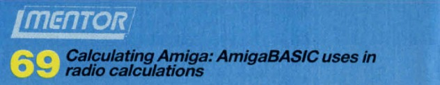 Calculating Amiga