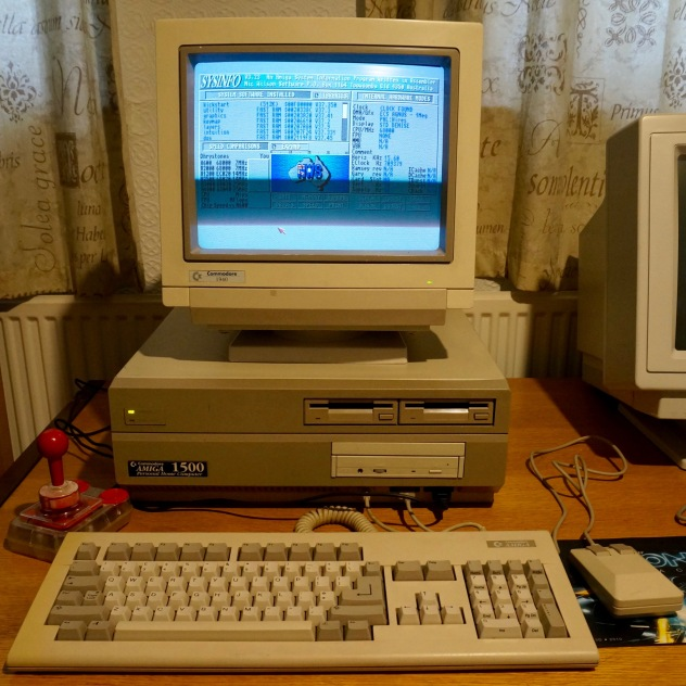 Birthday boy: my 'new' Commodore Amiga 1500
