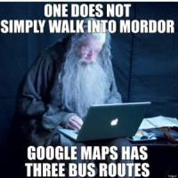 Mordor bus joke