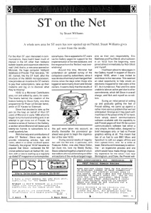 Article about '16/32' from an unknown Atari ST magazine, late 1987